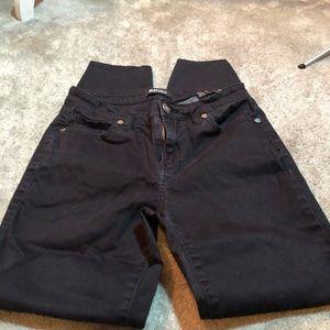 Buffalo Skinny Black Jeans